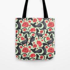 The Cat Print Tote Bag