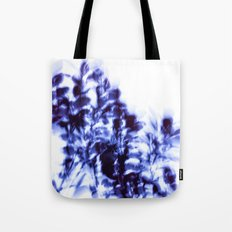 Impressionist leaves ~ indigo series 1 Tote Bag