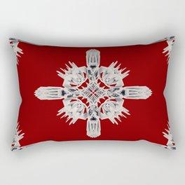 Ancient Royal Calaabachti Urn Rectangular Pillow