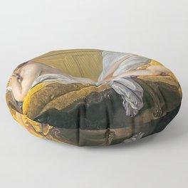 "François Boucher ""Nude on sofa (Miss O Murphy)"" Floor Pillow"