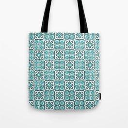 Moroccan Tile Geometric Mandala Tote Bag