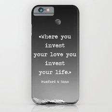 Invest your love Slim Case iPhone 6s