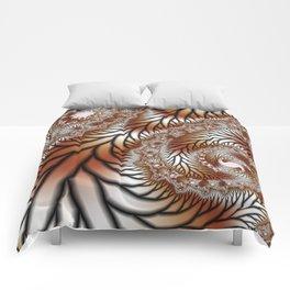 Tree Dance Fractal Comforters
