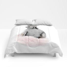 Fashion Illustration - Rihanna Comforters