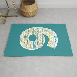 Life Path 6 (color background) Rug