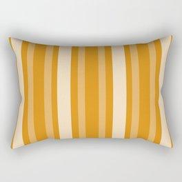 Marigold Victorian Lady Stripe Rectangular Pillow