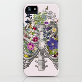 Ribs and flowers iPhone Case