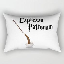 Espresso Patronum design Rectangular Pillow