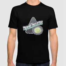 Tribble Troublemakers Mens Fitted Tee MEDIUM Black