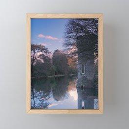 Sunset, Johnstown Castle, Co. Wexford, Ireland Framed Mini Art Print