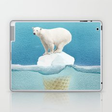 Polar ice cream cap Laptop & iPad Skin