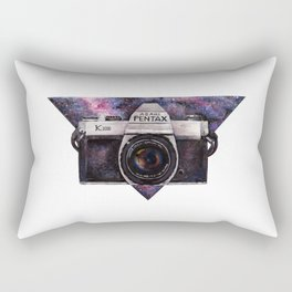 Pentax K1000 (Purple Nebula) Rectangular Pillow