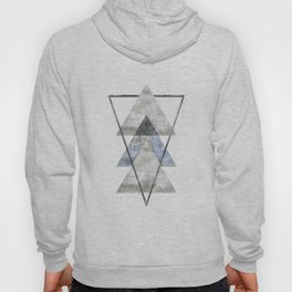 Concrete Meets Marble Triangle Hoody