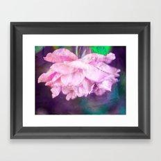 Colored Purple Framed Art Print
