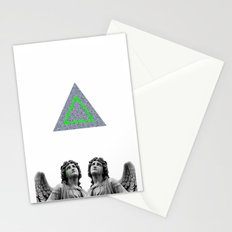 ⊕ Green Angels ⊕ Stationery Cards
