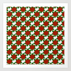 C13D Poinsettia Art Print