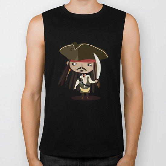 Captain Sparrow Biker Tank