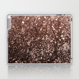 Rose Gold Glitter #1 #sparkling #decor #art #society6 Laptop & iPad Skin