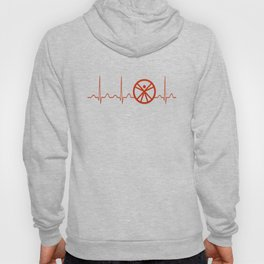 Anthropologist Heartbeat Hoody