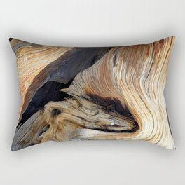 Whorl Juniper Tree Trunk Rectangular Pillow