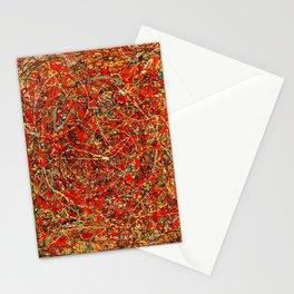 Jackson Pollock digitally reworked Stationery Cards