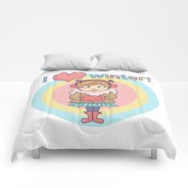Winter Cutie Comforters