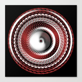 Spinning Out of Control Canvas Print