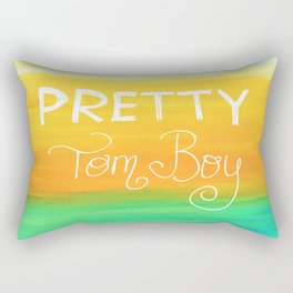 Pretty Tom Boy Rectangular Pillow