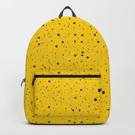Speckled Yellow Backpack