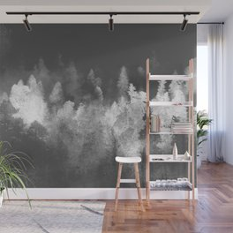 Chromatic Forest Nature Photography Wall Mural