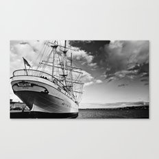 Marine. Baltic Sea. Canvas Print