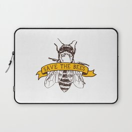 Save The Bees Laptop Sleeve