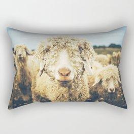 Curly I Rectangular Pillow