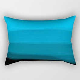 Ombre in Blue Rectangular Pillow
