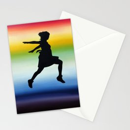 Body Movin - Jump Stationery Cards