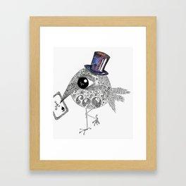 Ace Bird Framed Art Print