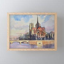 Notre Dame Framed Mini Art Print