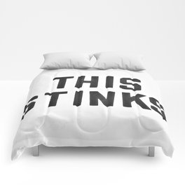this stinks Comforters