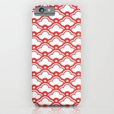 matsukata in poppy red iPhone 6s Slim Case