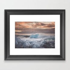 The Ice Cold Heaven Framed Art Print
