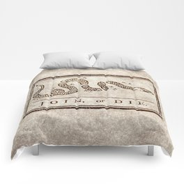Join or die Comforters