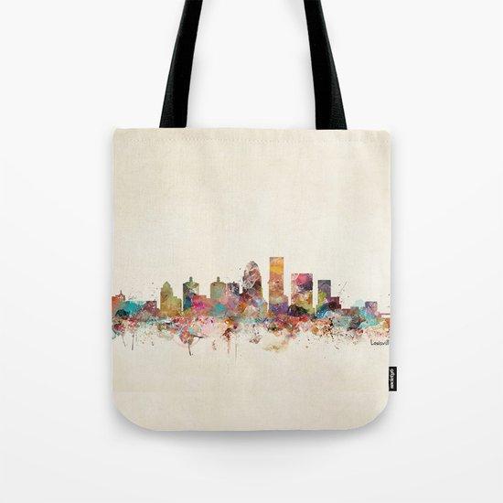 louisville kentucky skyline Tote Bag