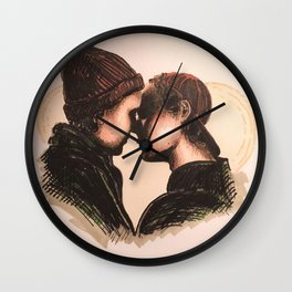 High for this Wall Clock