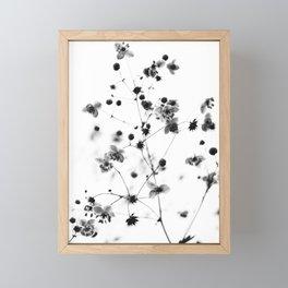 vintage flowers Framed Mini Art Print