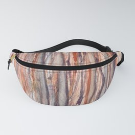 Purple and Gold Rain Forest Fanny Pack