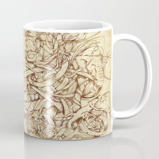 Water,Earth & Air Mug