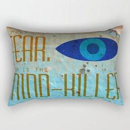 Litany Against Fear Rectangular Pillow