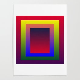 Color Shades by MRT Poster