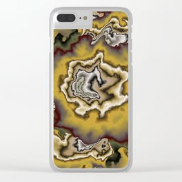 Turbulence in CMR 00 Clear iPhone Case