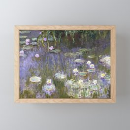 Water Lilies 1922 by Claude Monet Framed Mini Art Print